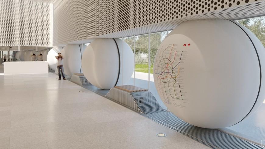 Станцию «Шереметьевская» БКЛ построят в стиле дворянской усадьбы
