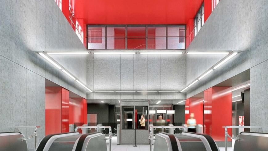 Новую станцию «Нижние Мневники» БКЛ построят в авангардном стиле