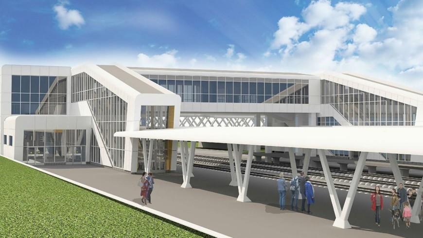 На станции «Лихоборы» МЦК построят стеклянный мост с подсветкой