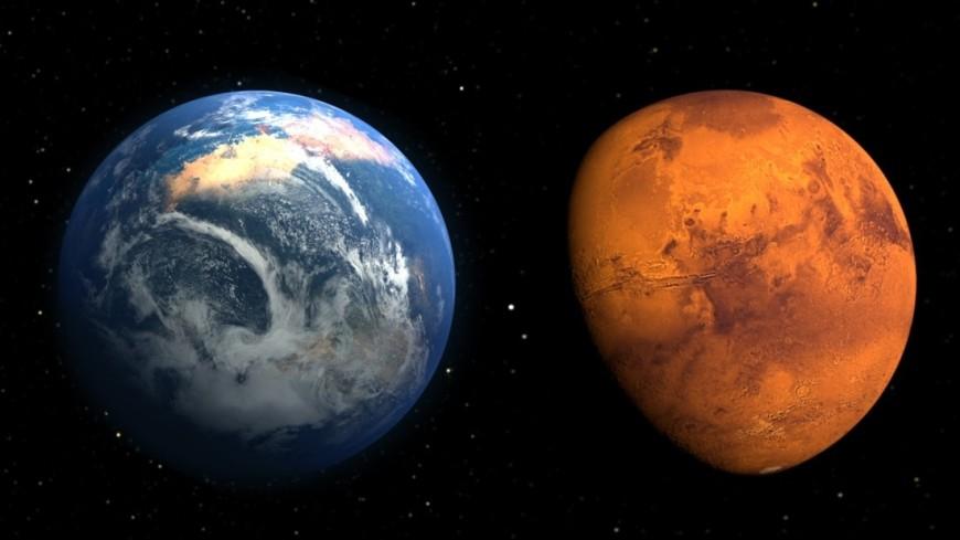 "Фото: ""NASA"":http://nasa.gov/, планета, марс, земля, планета земля"
