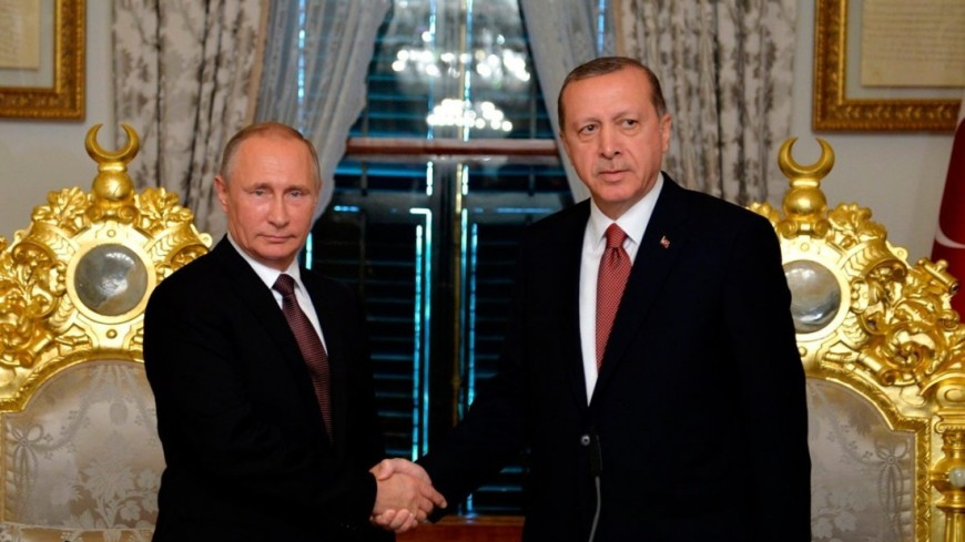"""Фото: """"Пресс-служба президента России"""":http://kremlin.ru/, путин и эрдоган"""