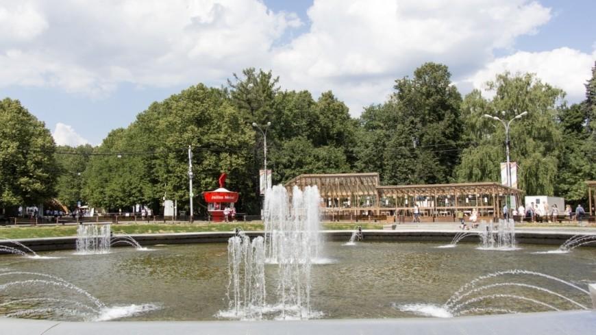 Жара в парке Сокольники