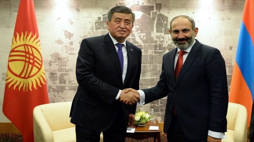 Пашинян и Жээнбеков обсудили по телефону вопросы сотрудничества в рамках ОДКБ и ЕАЭС