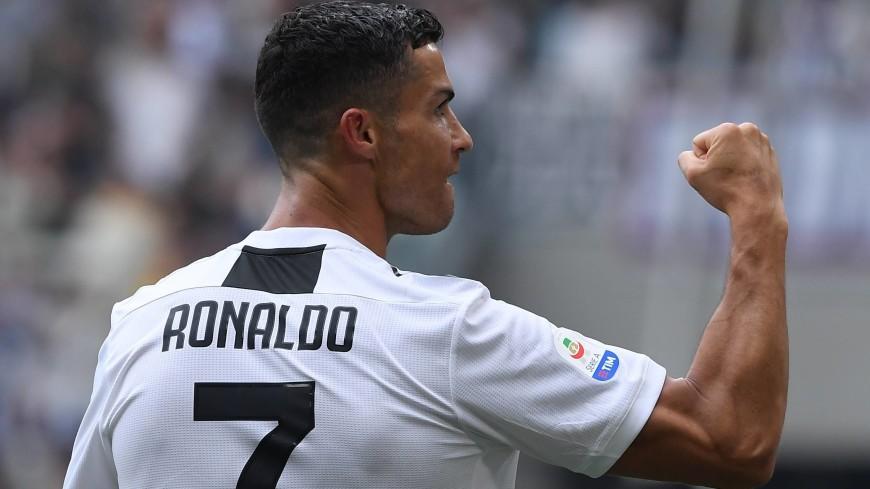Гол Роналду принес победу «Ювентусу» над «Фрозиноне»