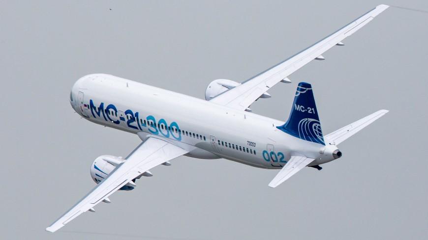 Европейские специалисты полетали на опытном самолете МС-21-300