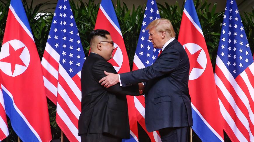 США и КНДР начали работу над новой встречей Трампа и Ким Чен Ына