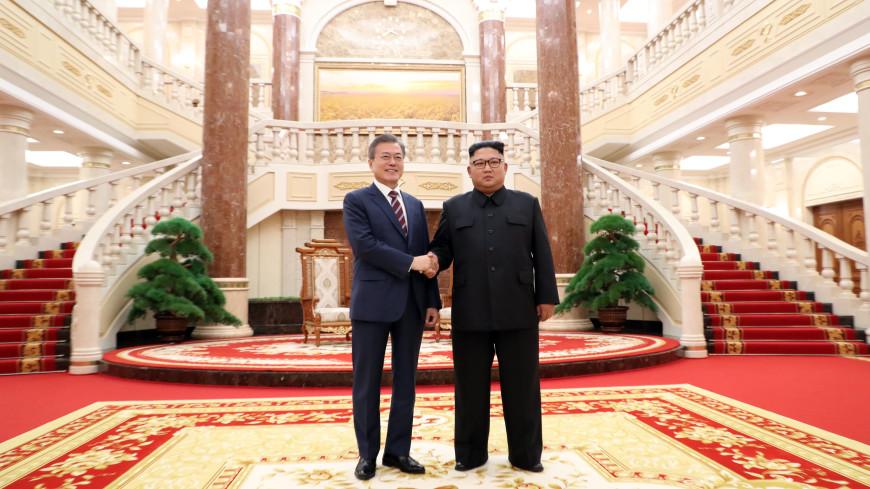 Ким Чен Ын подарил президенту Южной Корее две тонны грибов