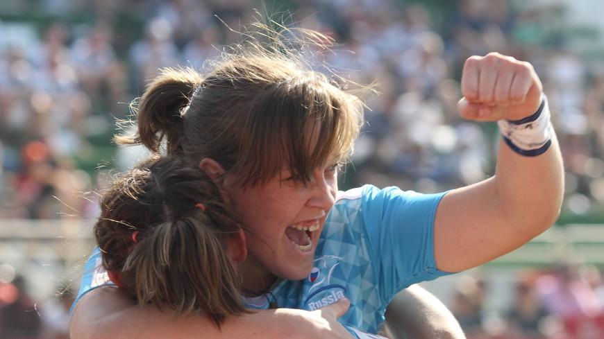 Россиянки стали чемпионками Европы по регби-7