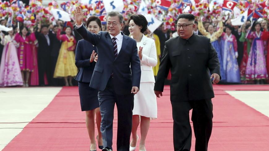 Переговоры обеду не помеха: Ким Чен Ын накормил Мун Чжэ Ина гречневой лапшой