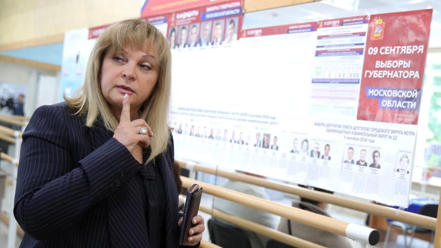 Памфилова: Общественные штабы по наблюдению за выборами работают в 27 регионах