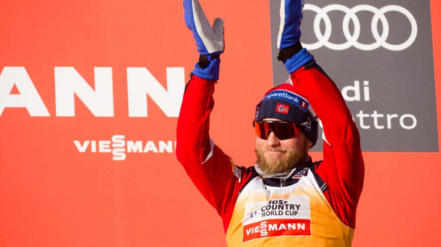 Лыжник Сундбю заряжается энергией от фотографий соперников из России