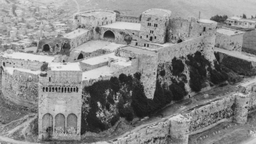В Сирии восстановят замок Крак де Шевалье XI века