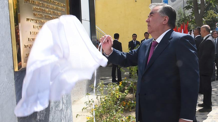 Рахмон лично открыл обещанные Ванчскому району объекты