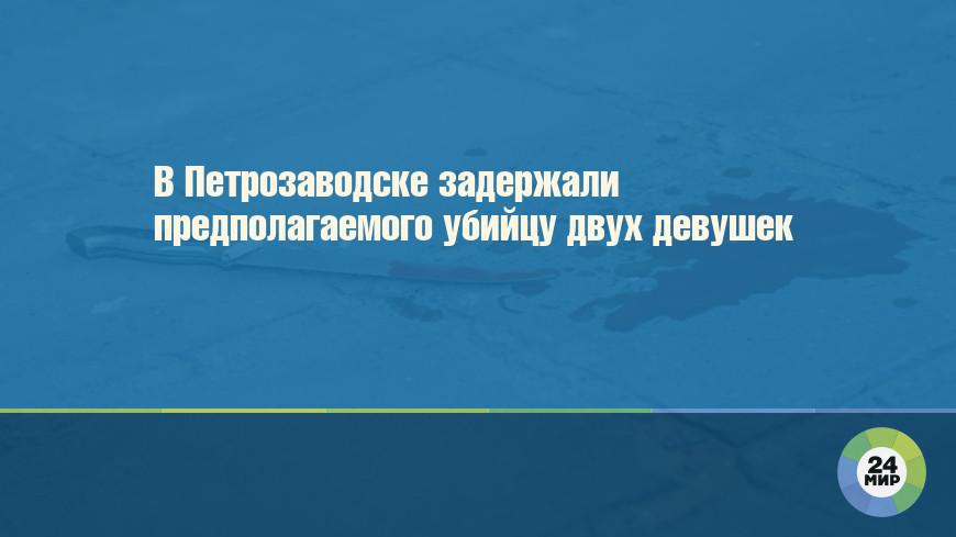 В Петрозаводске задержали предполагаемого убийцу двух девушек