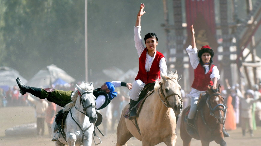 На Играх кочевников впервые покажут этнические детские игры