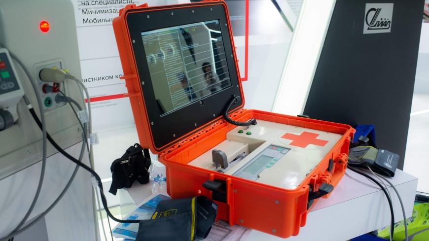 Ростех представил модернизированного «робота-медсестру»