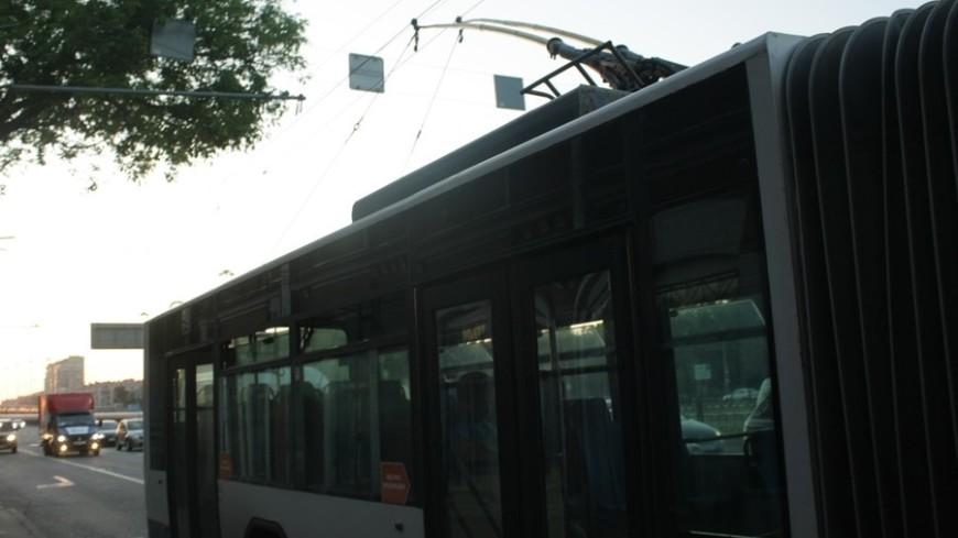 """Фото: Елена Андреева, """"«Мир24»"""":http://mir24.tv/, троллейбус, городской транспорт"""