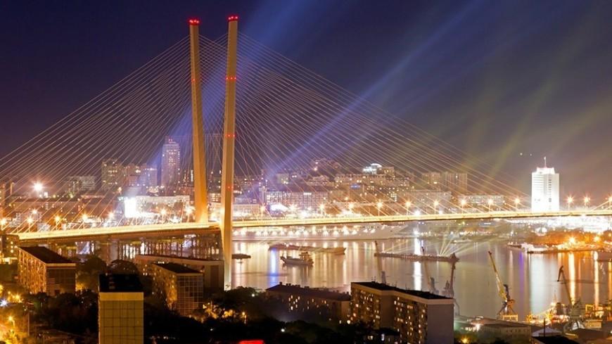 """Фото: Петр Королев, """"«МИР 24»"""":http://mir24.tv/, золотой мост, владивосток, золотой мост владивостока"""