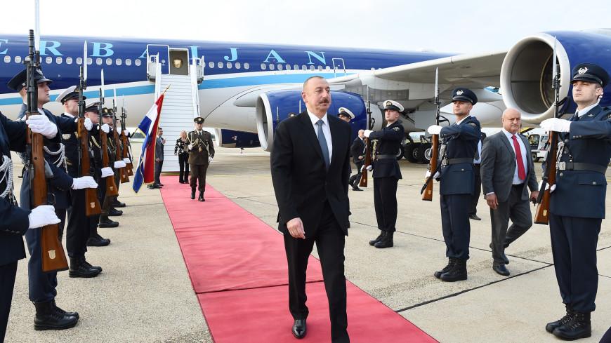 Лидеры Азербайджана и Хорватии обсудили в Загребе сотрудничество