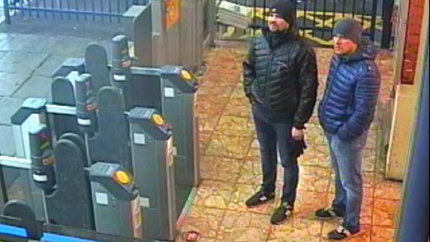 Обнародованы снимки подозреваемых по делу Скрипалей