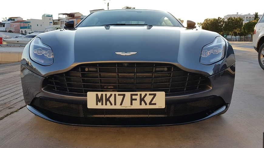 В Германии показали бронированную версию Aston Martin DB11