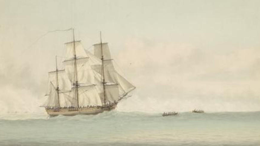 Пропавший корабль капитана Джеймса Кука найден спустя 240 лет