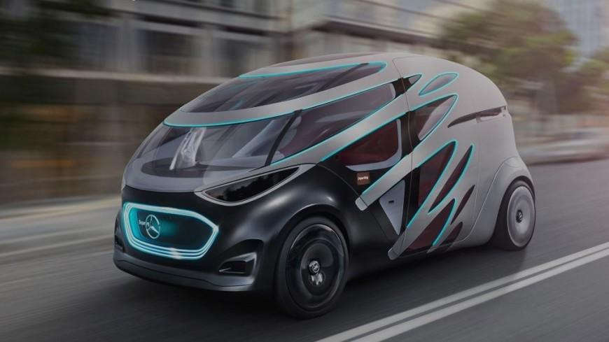 Mercedes представил прототип беспилотника-трансформера