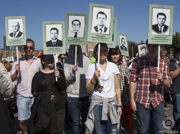 Балаклава отметила 75-летие освобождения от фашистов маршем
