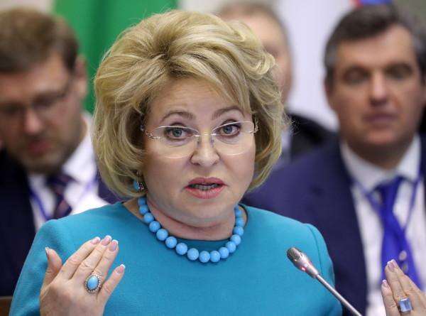 Нет своих и чужих: Матвиенко призвала сообща бороться с терроризмом