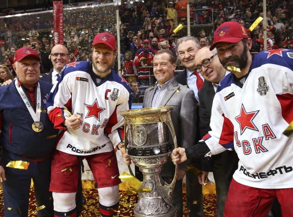 ЦСКА стал чемпионом Континентальной хоккейной лиги