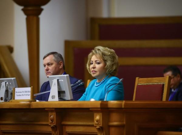 Матвиенко: Россия и Казахстан заинтересованы в гармонизации законодательства