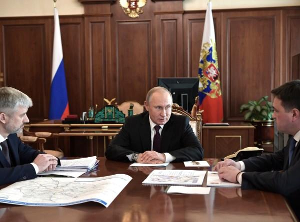 Путину доложили об улучшении транспортной ситуации в Подмосковье