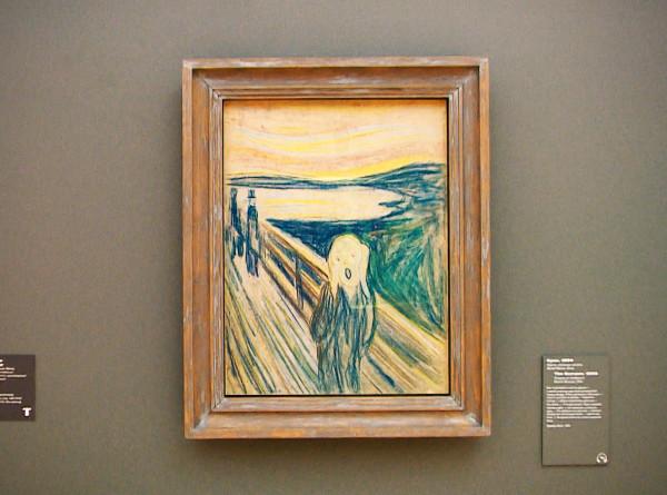 «Крик» Мунка: кого хотел напугать художник