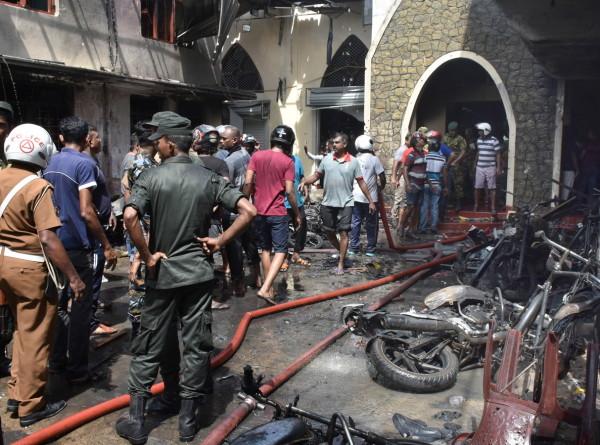 Около зоосада рядом со столицей Шри-Ланки прогремел седьмой взрыв