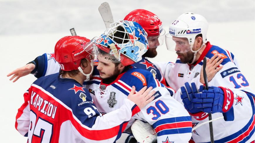 ЦСКА стал вторым финалистом Кубка Гагарина