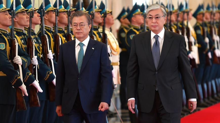 Токаев отметил качественно новый уровень во взаимоотношениях с Южной Кореей
