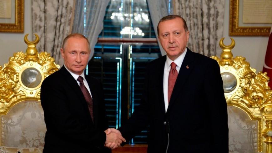 Путин на встрече с Эрдоганом отметил хороший уровень отношений двух стран