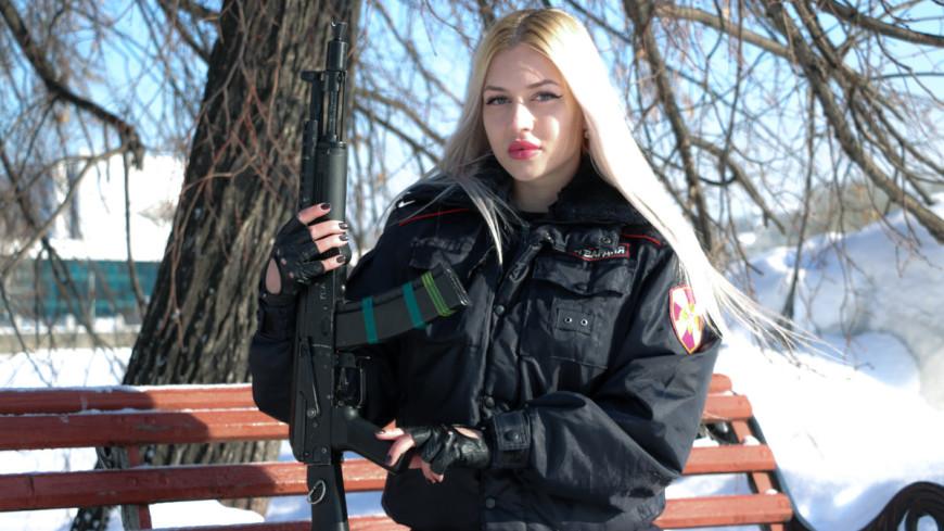 «Красой Росгвардии» стала прапорщик из Екатеринбурга