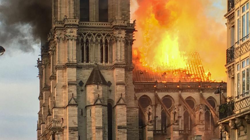 МЧС России поможет Франции установить причину пожара в Нотр-Даме