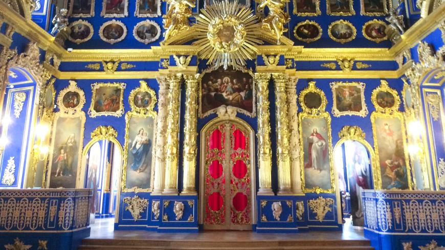 В Царском Селе отреставрировали церковь – шедевр Растрелли