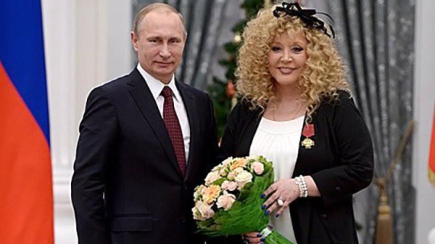 Путин поздравил Аллу Пугачеву с 70-летием