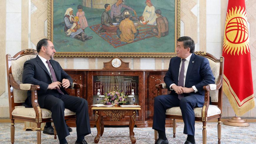 Жээнбеков и глава МИД Афганистана обсудили безопасность в Центральной Азии