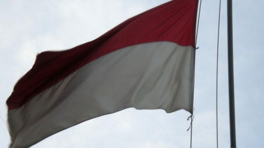 """Фото: """"Dekoelie, Викимедиа"""":https://commons.wikimedia.org/wiki/File:Indonesian_Flag.JPG?uselang=ru, флаг индонезии"""