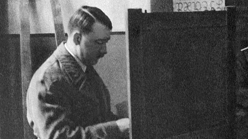 Обнаружены ранее не опубликованные снимки Гитлера