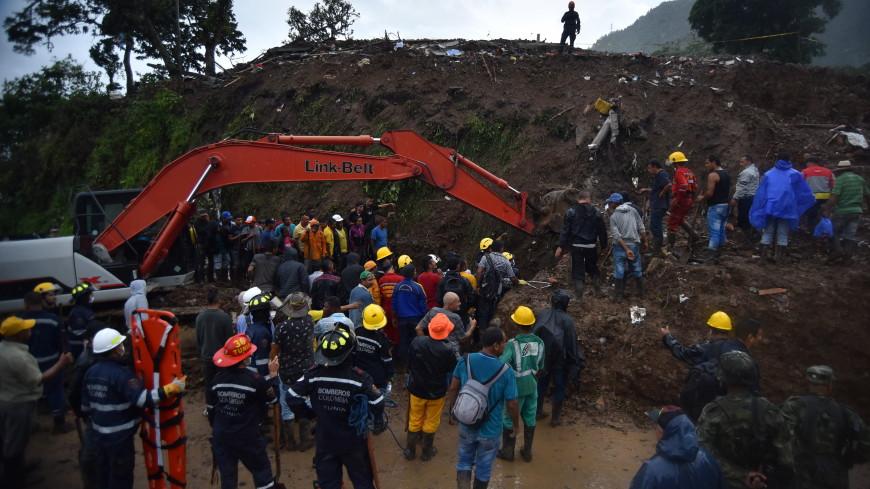 Оползни в Колумбии унесли жизни 19 человек
