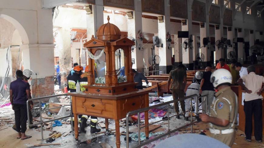 На Шри-Ланке произвели третий за день контролируемый взрыв