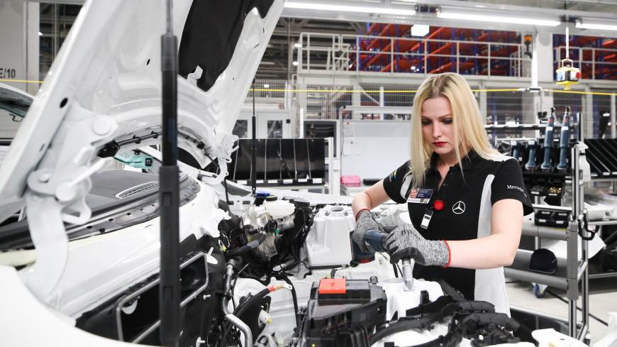 На заводе «Мерседес» работают более 30 выпускников колледжа «Подмосковье»