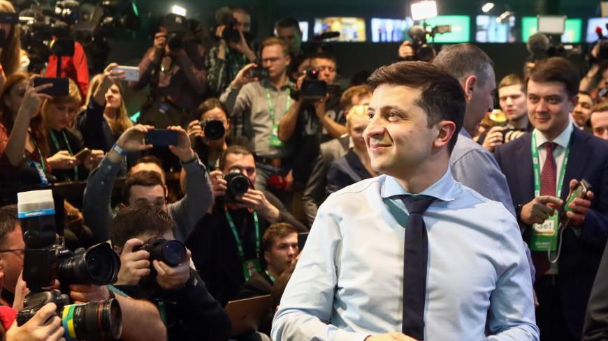 Зеленский лидирует в президентской гонке после обработки более 80% голосов