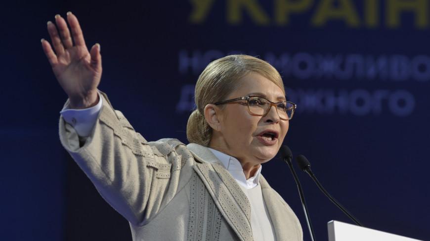 Тимошенко не пойдет в суд оспаривать выборы