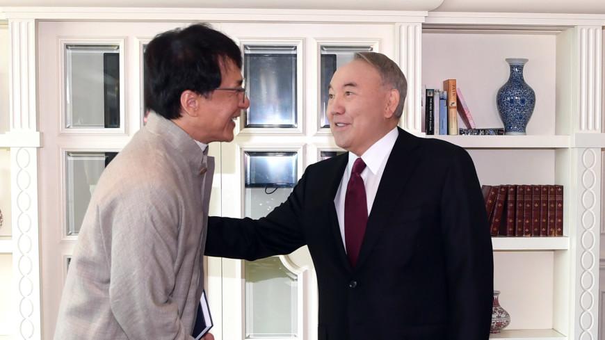 Джеки Чан рассказал Назарбаеву о творческих планах